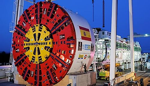 S300 tunnel boring machine