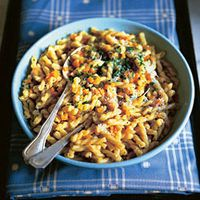 Pasta with Carrots, Risotto Style